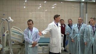Открытие саянского роддома после капитального ремонта