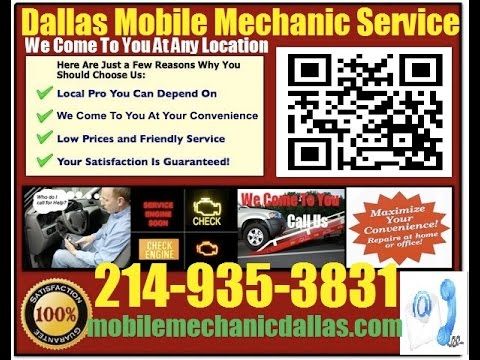 Mobile Mechanic Plano TX 214-935-3831 Auto Car Repair Service