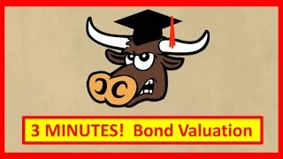 3 Minutes! Bond Valuation Explained and How to Value a Bond