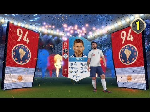 MESSI IN STARTER PACK!! - #1 FIFA 18 World Cup RTG