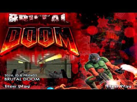 Brutal Doom Hyperspin Theme, Menu and Game Download - Arcade