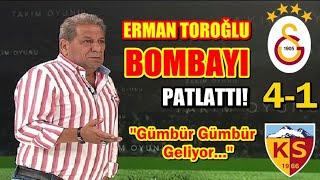 Galatasaray 4-1 Kayserispor Maç Sonu Yorumları I Son DAKiKA