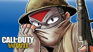 CALL OF DUTY WW2 BETA - DELIRIOUS GOING IN!!!! (Domination Gameplay)