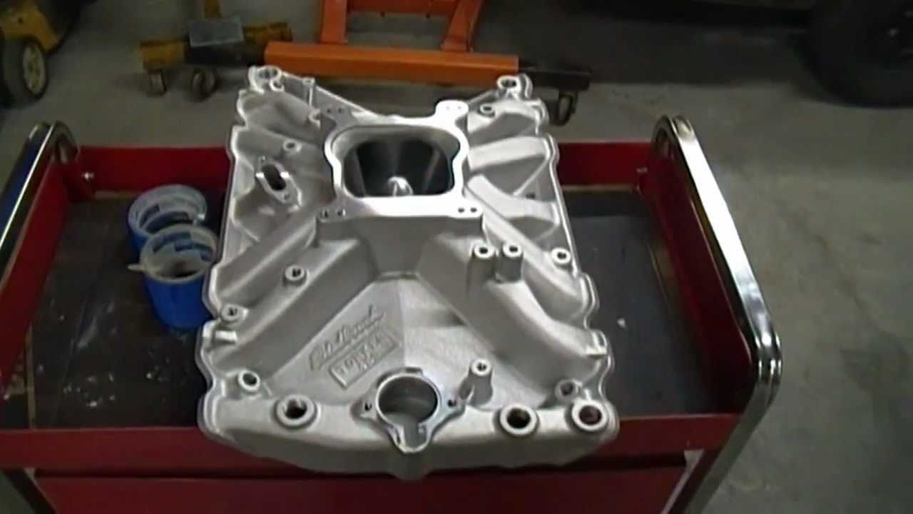 Aluminum Intake Manifold Clear Coat Experiment Youtube