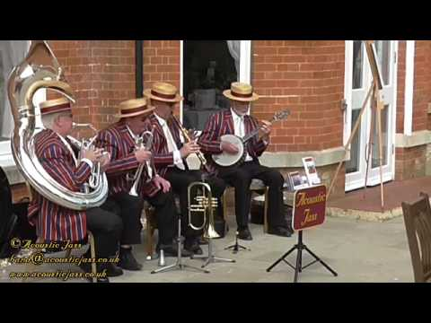 South played by traditional Jazz Band Acoustic Jass