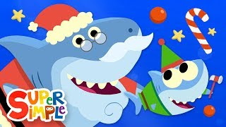Santa Shark | Baby Shark Christmas Song featuring Finny The Shark