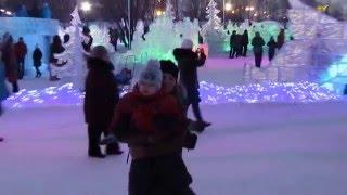 Беловодье, ледяные фигуры, Омск / Belovode, Omsk