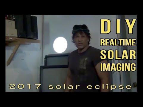 Total Solar Eclipse 2017 DIY Safe Sun Imaging Explained Telescope