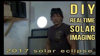 Solar 30,000mm Sun imaging Telescope Schlieren Photography Dan's