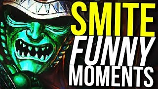 HACHIMAN HACHICAN DO ANYTHING! (Smite Funny Moments)