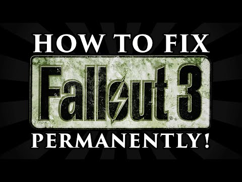 How to Fix Fallout 3 Freezing, Crashing, Visual + Radio Stutters, and Errors! (PERMANENTLY)
