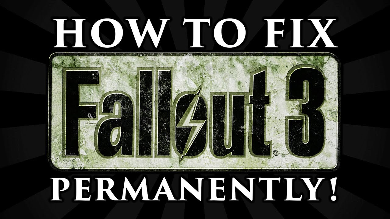 Download How to Fix Fallout 3 Freezing, Crashing, Visual + Radio Stutters, and Errors! (PERMANENTLY)