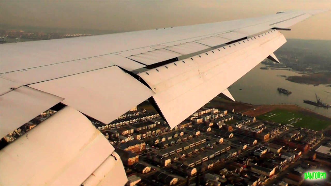 United 767-400 Great Wake Turbulence Landing at Newark Liberty!