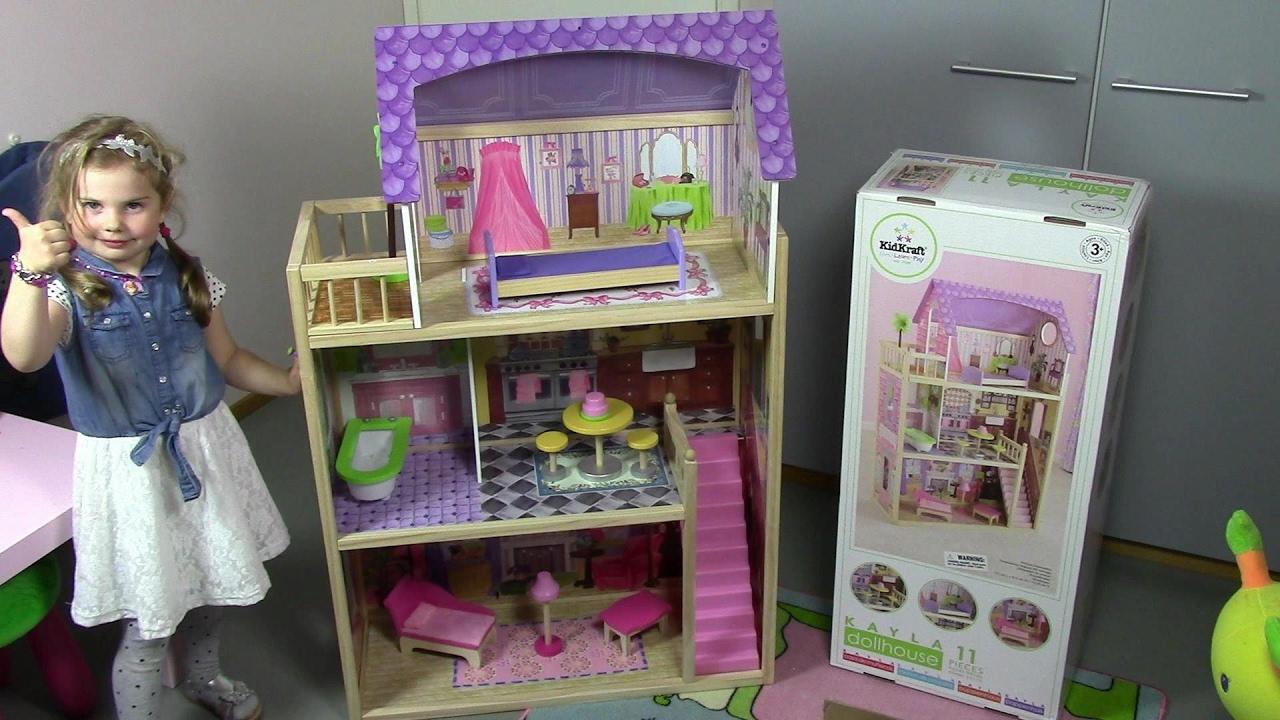 Кукольный домик KidKraft Kensington Country Estate 65242 - YouTube
