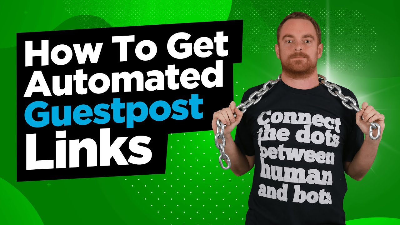 Guest Posting For High Quality Backlinks - How To Automate & Manage