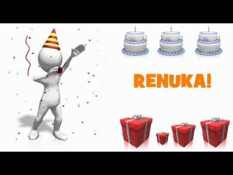 HAPPY BIRTHDAY RENUKA!