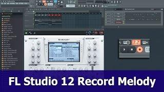 FL Studio 12 Opname tutorial: Melodie Op Piano Roll