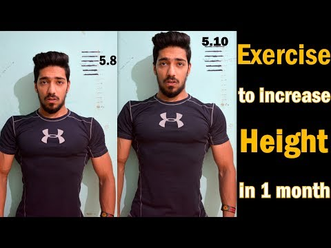 Exercise​ Increase Height Fast Naturally in 1 Month | Grow Height after 18