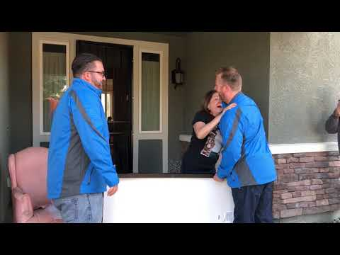 Local solar company donates home solar system to foster family in Lathrop, California