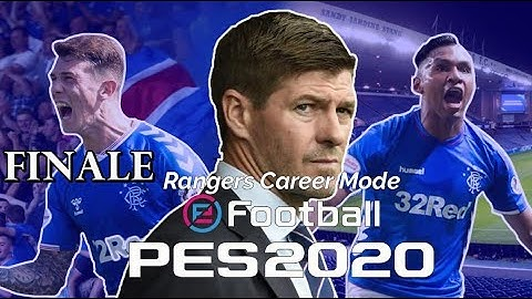 RANGERS CAREER MODE SERIES FINALE! EUROPA LEAGUE FINAL &  WILL WE WIN THE LEAGUE?