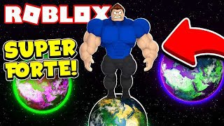 I AM SO STRONG THAT IT LEAVES THE PLANET in ROBLOX