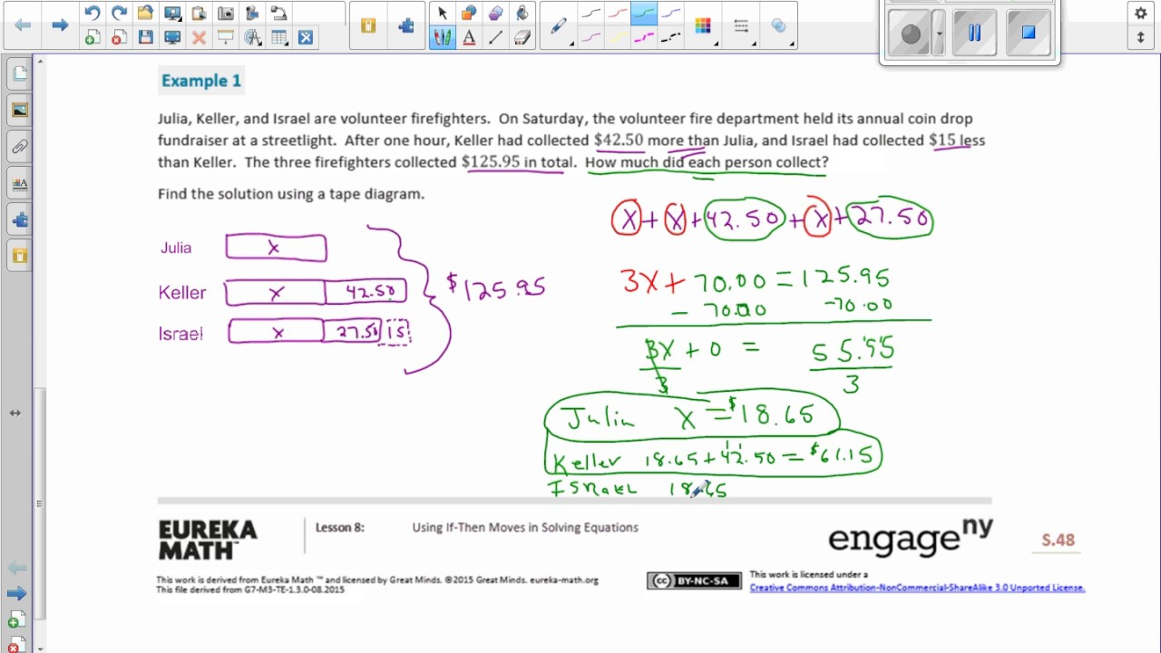 hight resolution of Math 7 Module 3 Lesson 8 Video - YouTube