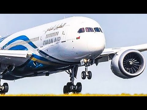 BOEING 787 near VERTICAL TAKEOFF and AMAZING AIRSHOW - FARNBOROUGH AIR SHOW 2018 (4K)