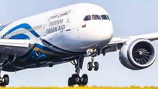 BOEING 787 near VERTICAL TAKEOFF and AMAZING AIRSHOW - FARNBOROUGH AIR SHOW 2018 (4K)