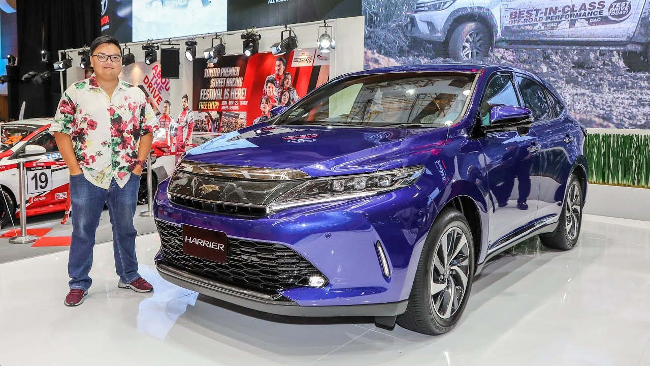First Look 2018 Toyota Harrier 2 0 Turbo In Malaysia Rm238k
