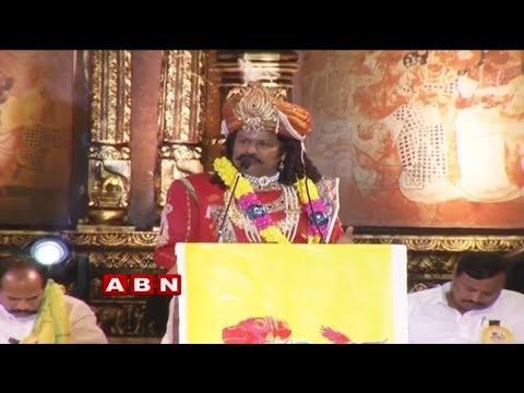 TDP MLA Balakrishna As Sri Krishnadevaraya At Lepakshi Utsav | Hindupur | ABN Telugu