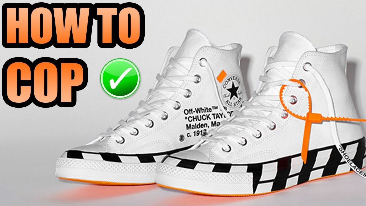 How To Get The OFF WHITE CONVERSE CHUCK TAYLOR 2 !  bcea48bff