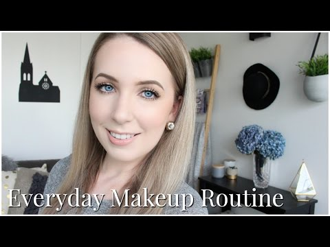 Everyday Makeup Routine | Neutral Makeup for Pale Skin