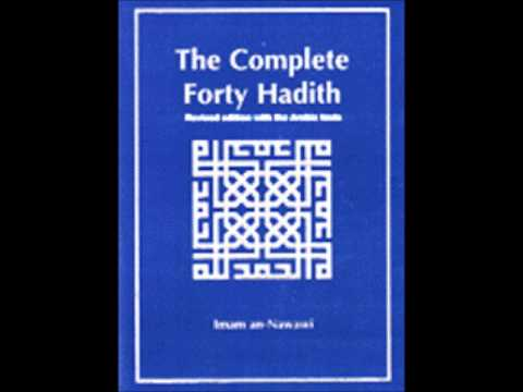 AUDIO FOR NAWAWI'S FORTY HADITH