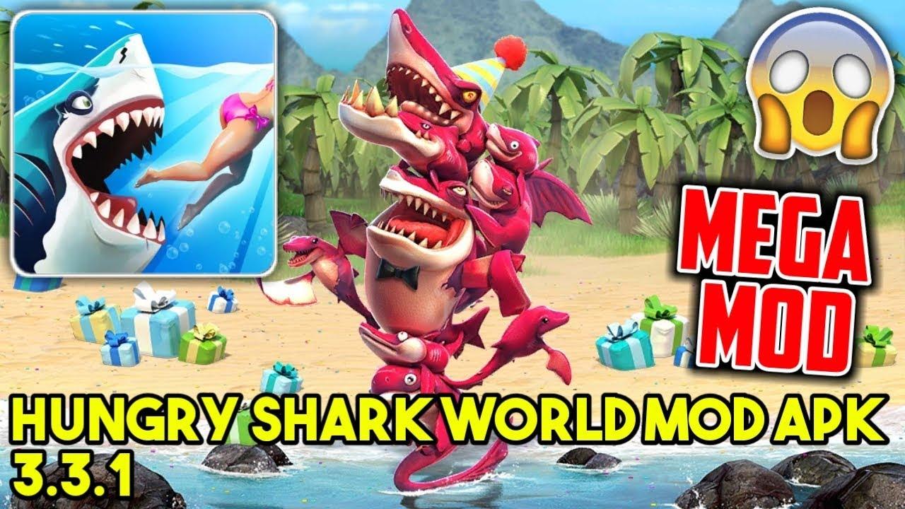 Hungry Shark World MOD APK 3 3 1