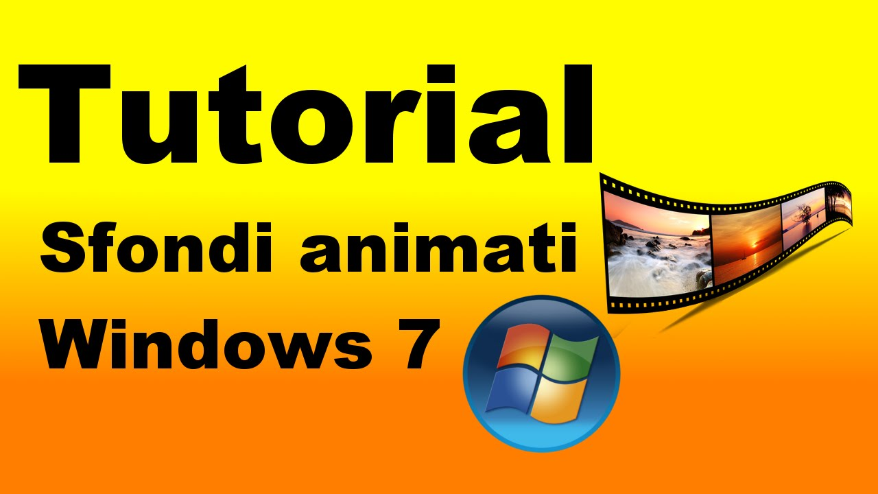 Tutorial sfondi animati del desktop per windows 7 youtube for Desktop animato