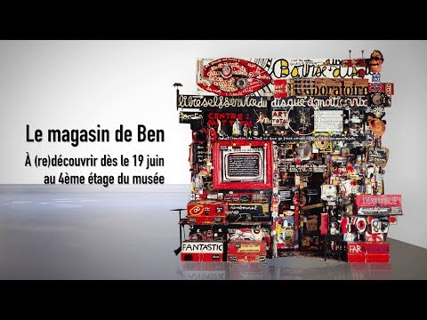Timelapse | Le magasin de Ben | Centre Pompidou