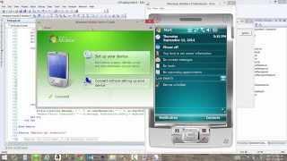 Configurar Windows Mobile Device Center con Visual Studio (App Smart Device)