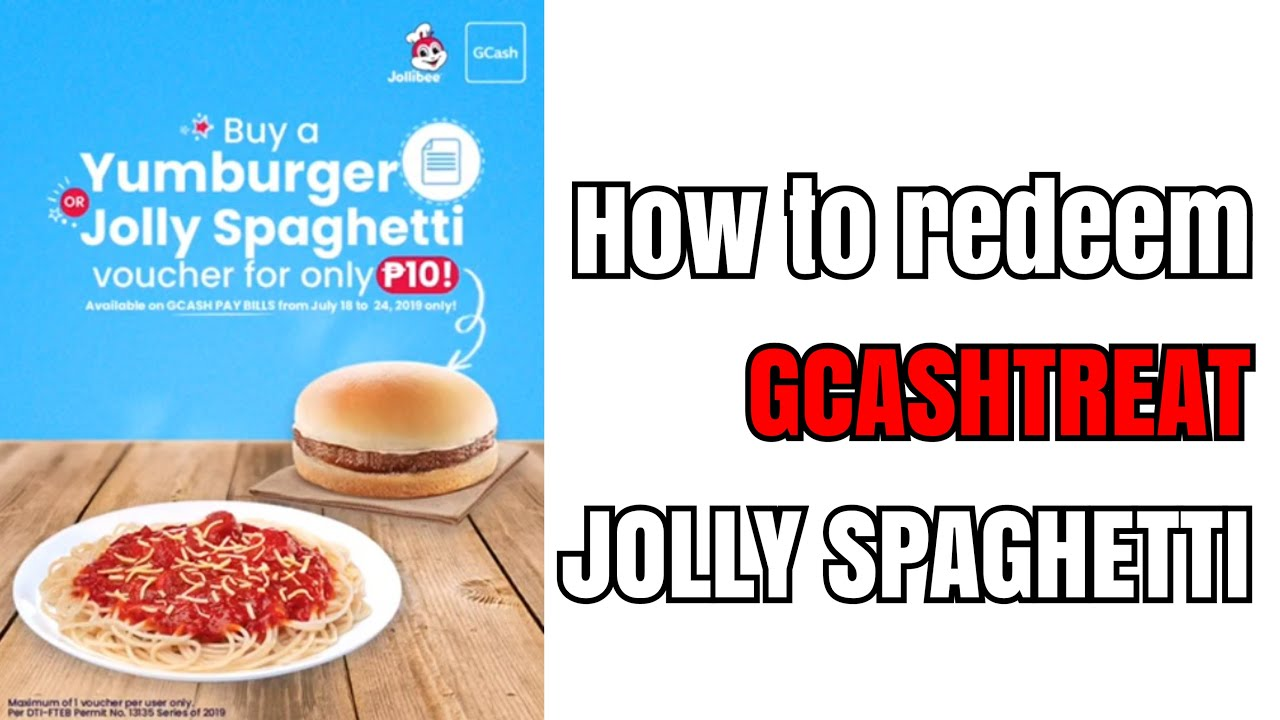 HOW TO CLAIM GCASH TREATS AT JOLLIBEE