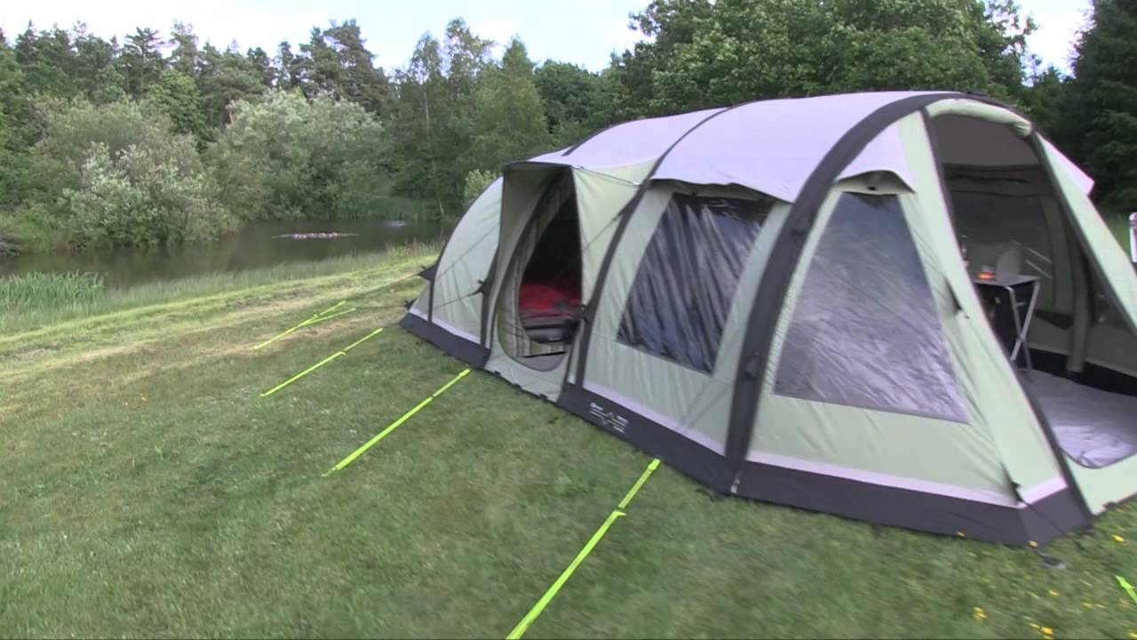& Outwell Smart Air tent - YouTube