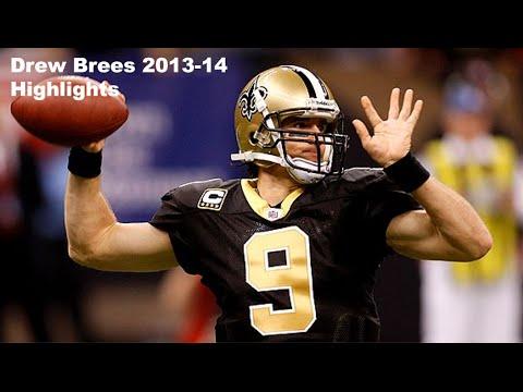 2013-14 Pro Bowl QB - Drew Brees (see description) Highlights NFL