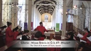 Gloria - Missa Brevis in G k49 - Mozart