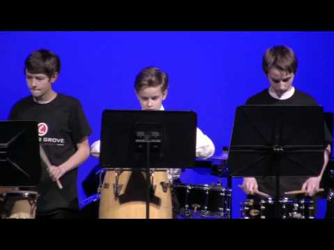 2017 Center Grove Night of Percussion- Middle School Performances