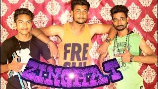 Zingaat ।।dhadak ||bollyswag|| Dance choreography ||vivek rajput