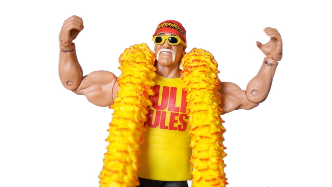 2wwe mattel elite 34 hulk hogan