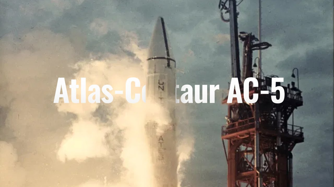 Atlas Centaur Rocket Explodes On Launchpad March 2 1965 Youtube