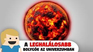 A 10 legextrémebb/leghalálosabb bolygó az Univerzu...