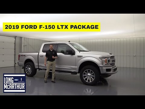 2019 FORD F-150 LTX OFF ROAD PACKAGE