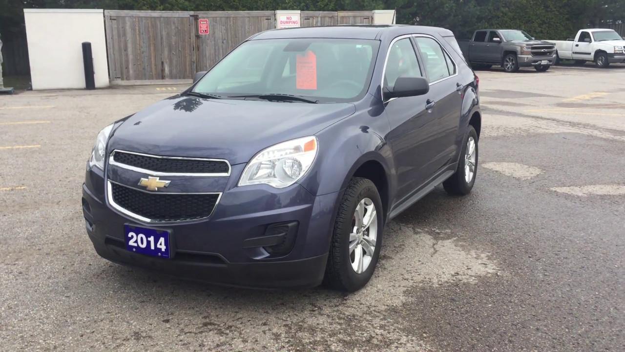 Equinox 2014 chevrolet equinox reviews : 2014 Chevrolet Equinox LS Atlantis Blue Metallic Roy Nichols ...