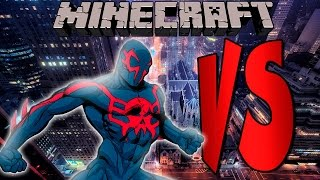 SPIDERMAN 2099 | SUPERHEROES DESAFIO | Minecraft