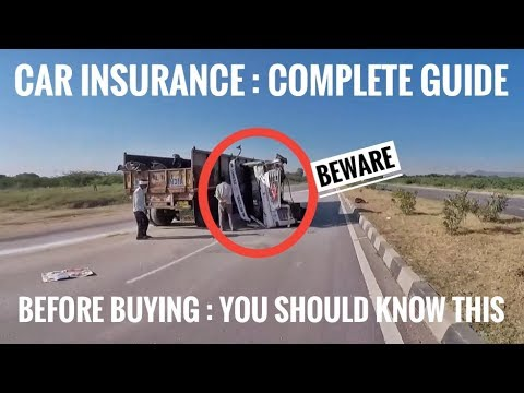 VEHICLE / CAR INSURANCE COMPLETE GUIDE ( DON'T MISS ): CHOOSE BEST INSURANCE FOR YOUR CAR